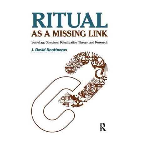 Ritual as a Missing Link : Sociology, Structural Ritualization Theory and - Missing Halloween Theory