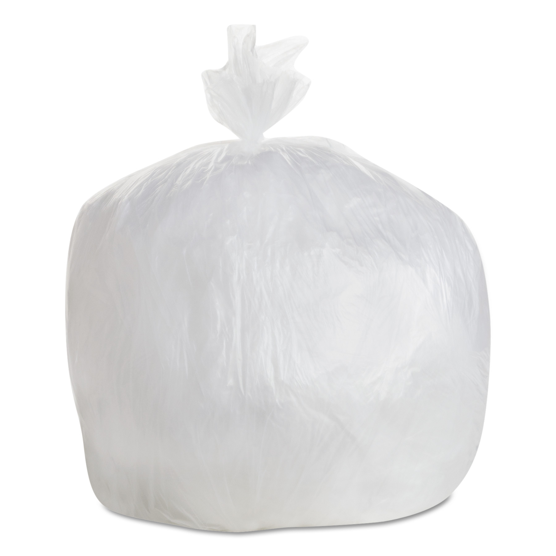 GEN High-Density Trash Bag, 30x36, 20-30 gal, 8 Mic, Natural, 25 Bag/RL, 20 RL/CT