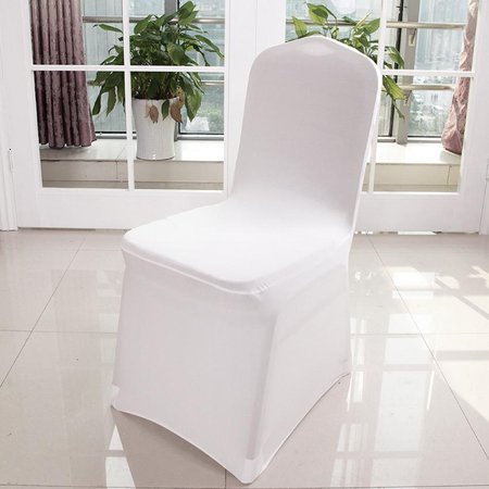Phenomenal Folding Spandex Chair Covers For Wedding Supply Party Banquet Decoration White Set Of 100 Aphe Machost Co Dining Chair Design Ideas Machostcouk