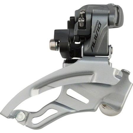 Shimano Alivio M4000 9-Speed Triple Down-Swing Dual-Pull Front Derailleur