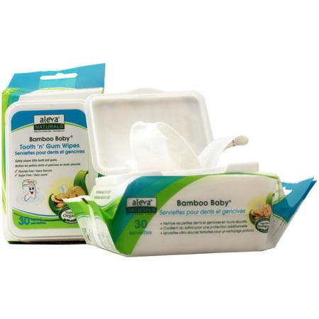 Bambou bébé dent n » lingettes Gum 30 feuilles