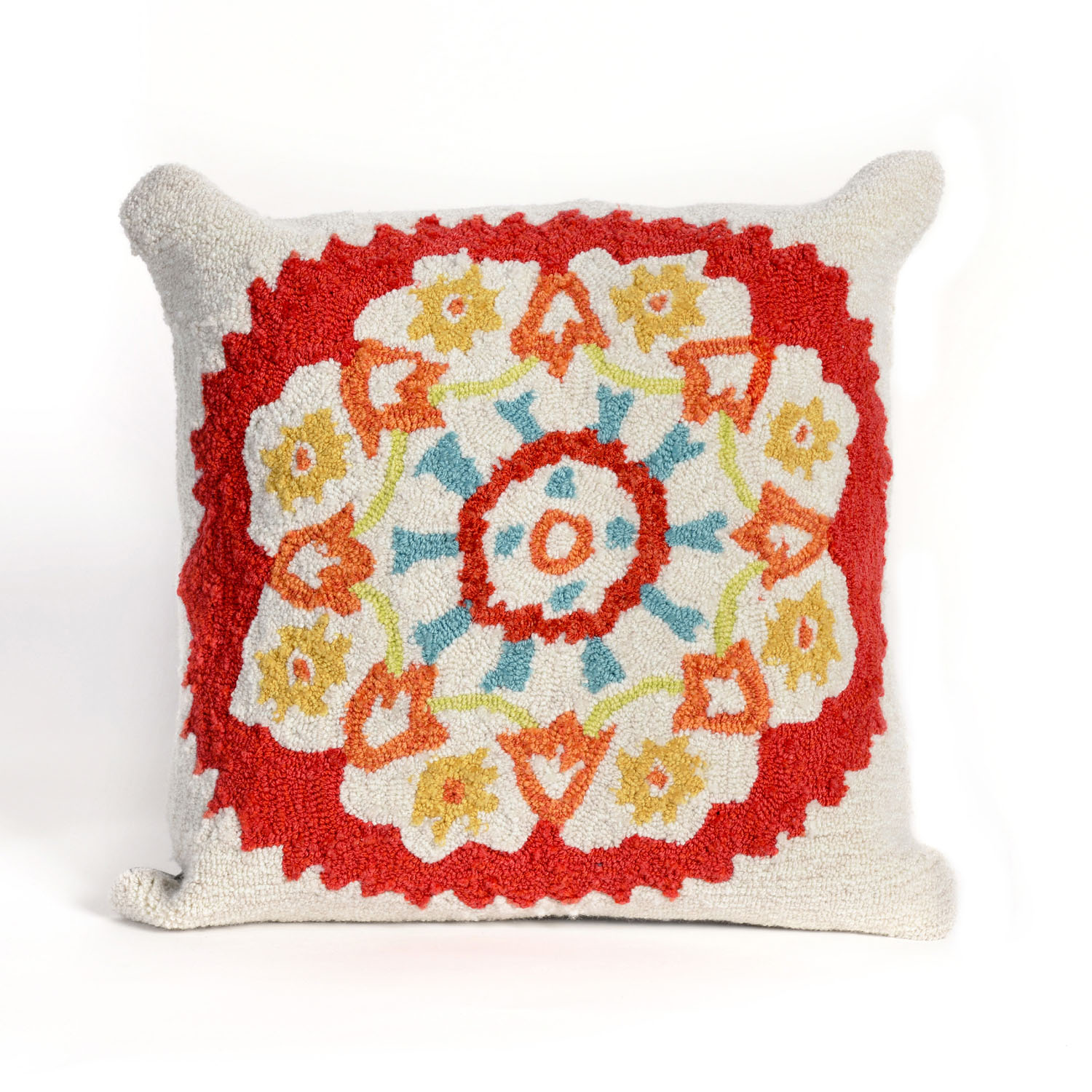Frontporch Suzanie Pillow-Color:Red