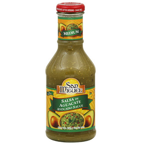 ***Discontinued by Kehe 5/5***San Miguel Medium Avocado Sauce, 450g  (Pack of 12)