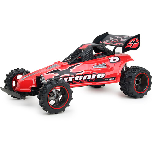 New Bright 1:14 Full-Function Radio-Controlled Velocity Buggy, Red