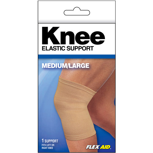 Flex Aid Elastic Knee Support, Medium/Large