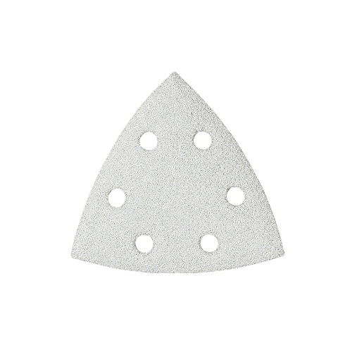 Bosch SDTW182 180-Grit Hook and Loop White Detail Triangle Sanding Sheet - 25pk