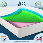 "12"" Delight Cool and Gel Memory Foam Mattress - Twin XL"