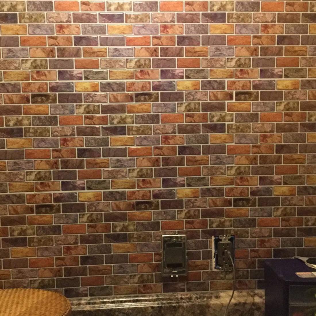 Art3d 12 X 12 Peel And Stick Backsplash Tiles For Kitchen Backsplash Bathroom Backsplash Walmart Com Walmart Com