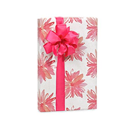Pink and white Floral Birthday / Special Occasion Gift Wrap Wrapping Paper-16ft