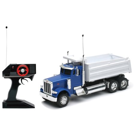 1:32 Scale Radio Remote Controlled R/C Peterbilt 379 Dump Truck RC RTR 1/8 Rtr Rc Nitro Truck