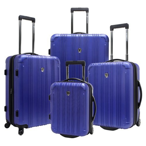Travelers Choice Luxembourg 4 Piece Expandable Hardshell Luggage Set