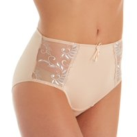 Women's Pour Moi 3804B Imogen Rose Embroidered Brief Panty