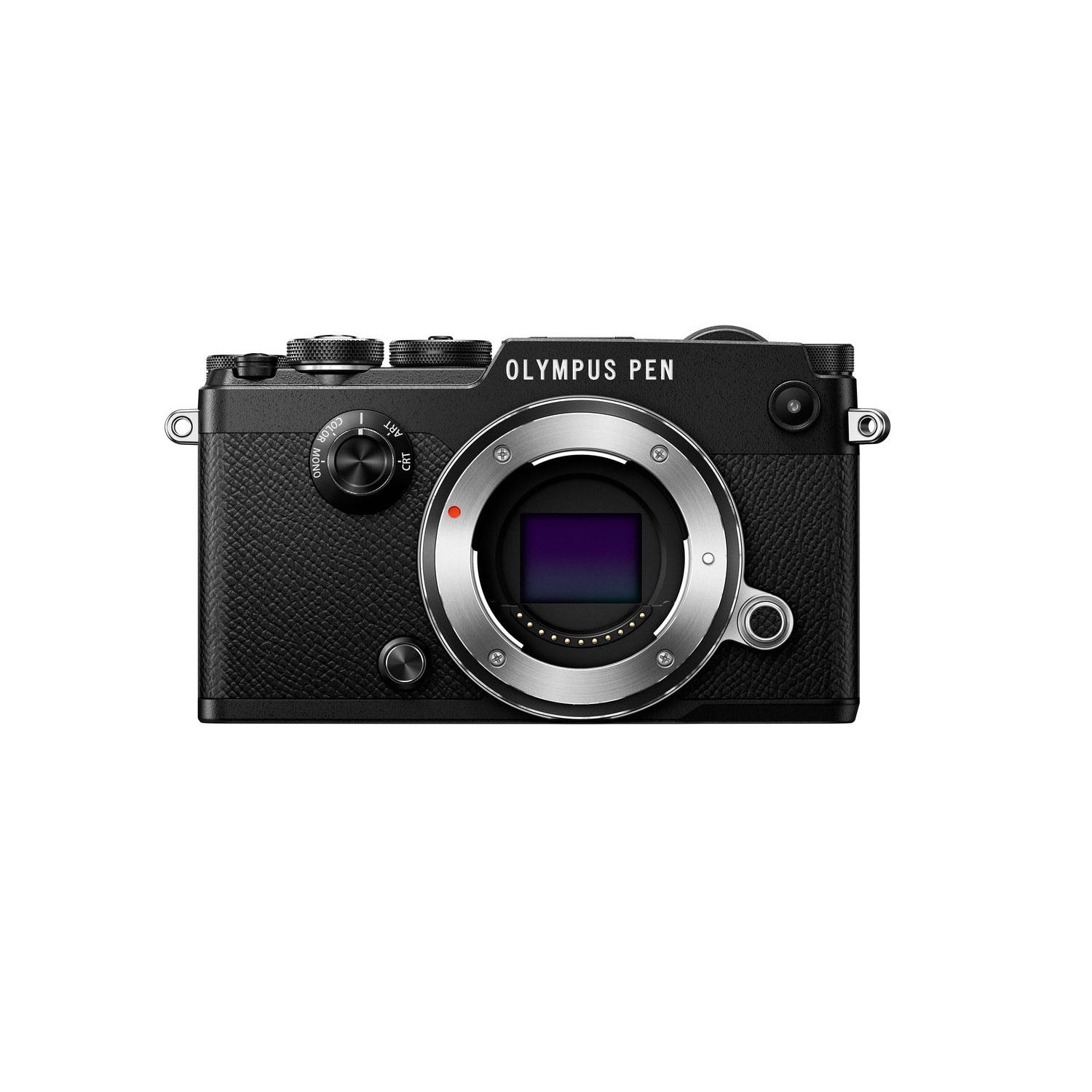 Olympus PEN-F 20.3 Megapixel Camera (Body Only), Black by Olympus