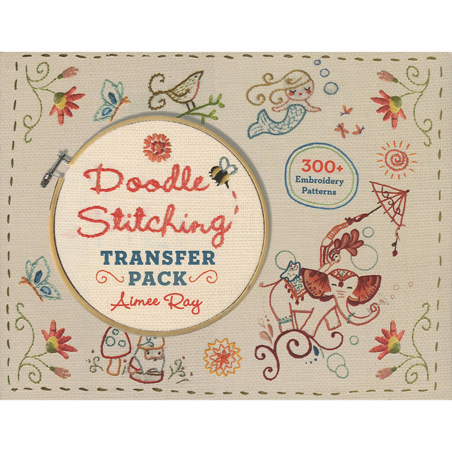 Lark Books Doodle Stitching Transfer Pack