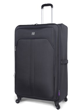 """Protege 28"""" Satellite Light Weight Luggage, Gray"""
