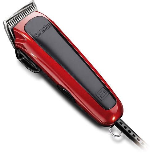 Andis Easy Cut 20-Piece Home Haircutting Kit, Red
