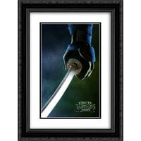 Teenage Mutant Ninja Turtles 20x24 Double Matted Black Ornate Framed Movie Poster Art Print