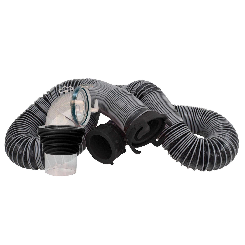 Valterra D04-0650 Silverback Sewer Hose Kit - 15'