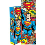 Superman Retro 1000 PC Slim Jigsaw Puzzle