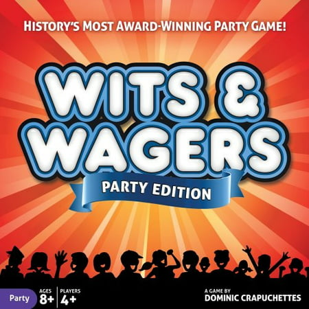north star games wits & wagers board game | party edition, kid friendly party game and - Kid Friendly Halloween Party Games
