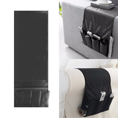 Sofa Arm Rest Tv Remote Control Organizer Holder 4 Pockets Chair