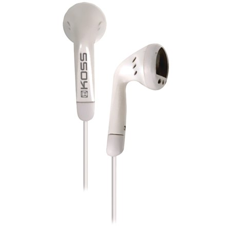 Koss KE5 Earbud Headphones - White - Koss Audio Video