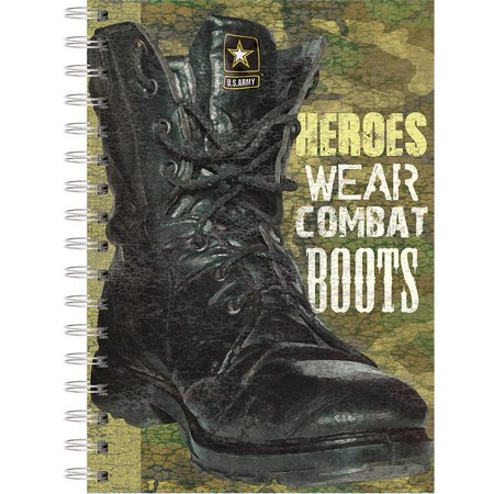U.S. Army Boot Spiral Journal, Lang Folk Art by Lang Companies