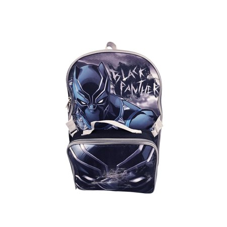 MARVEL BLACK PANTHER BACKPACK WITH LUNCH KIT