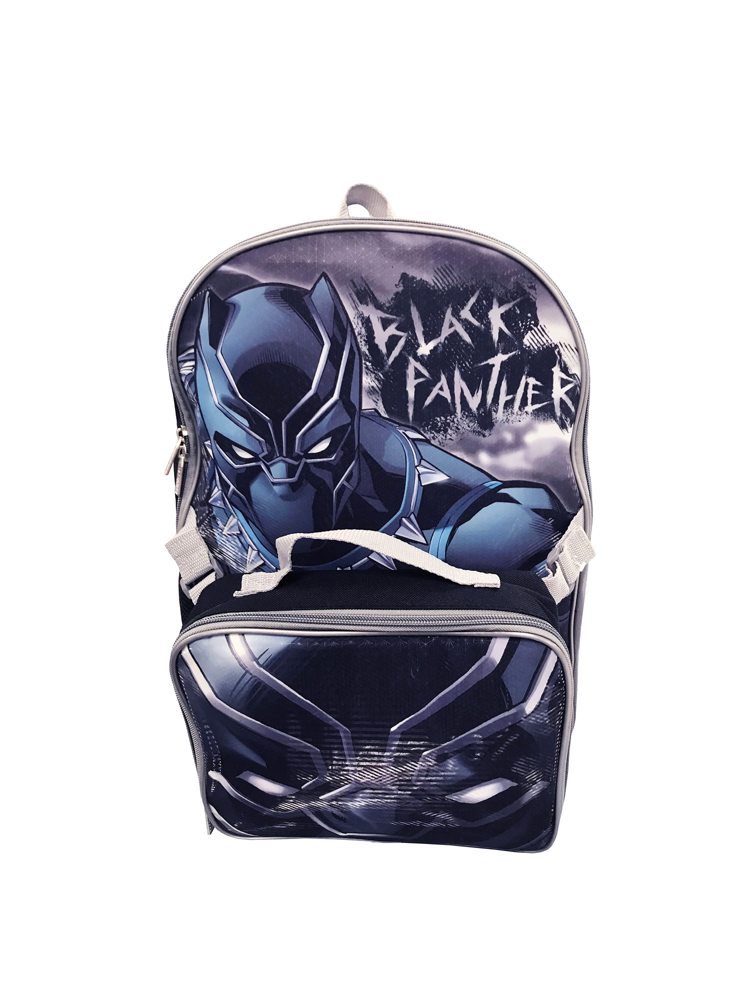 Black Panther Backpack With Lunch