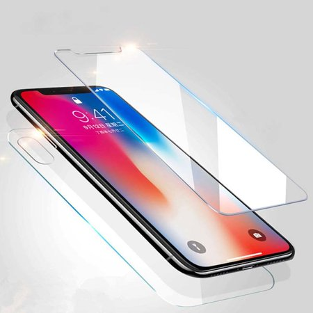 Front+Back Tempered Glass Screen Protector For Apple IPhone XR XS