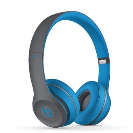 Lyrik Solo Air (certified refurbished solo 2 / solo2 wireless over-ear headphones - flash blue )
