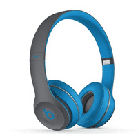 certified refurbished solo 2 / solo2 wireless over-ear headphones - flash blue
