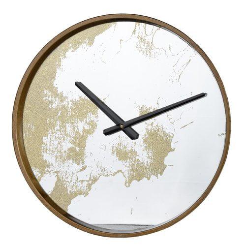 Brayden Studio 15'' Plastic Wall Clock