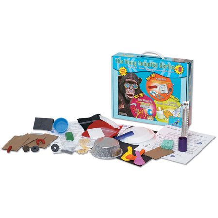 The Young Scientists Series - Science Experiments Kit #9 - Magnetism (Kit 25) - Static Electricity (Kit 26) - Tornadoes Clouds and Water Cycle (Kit