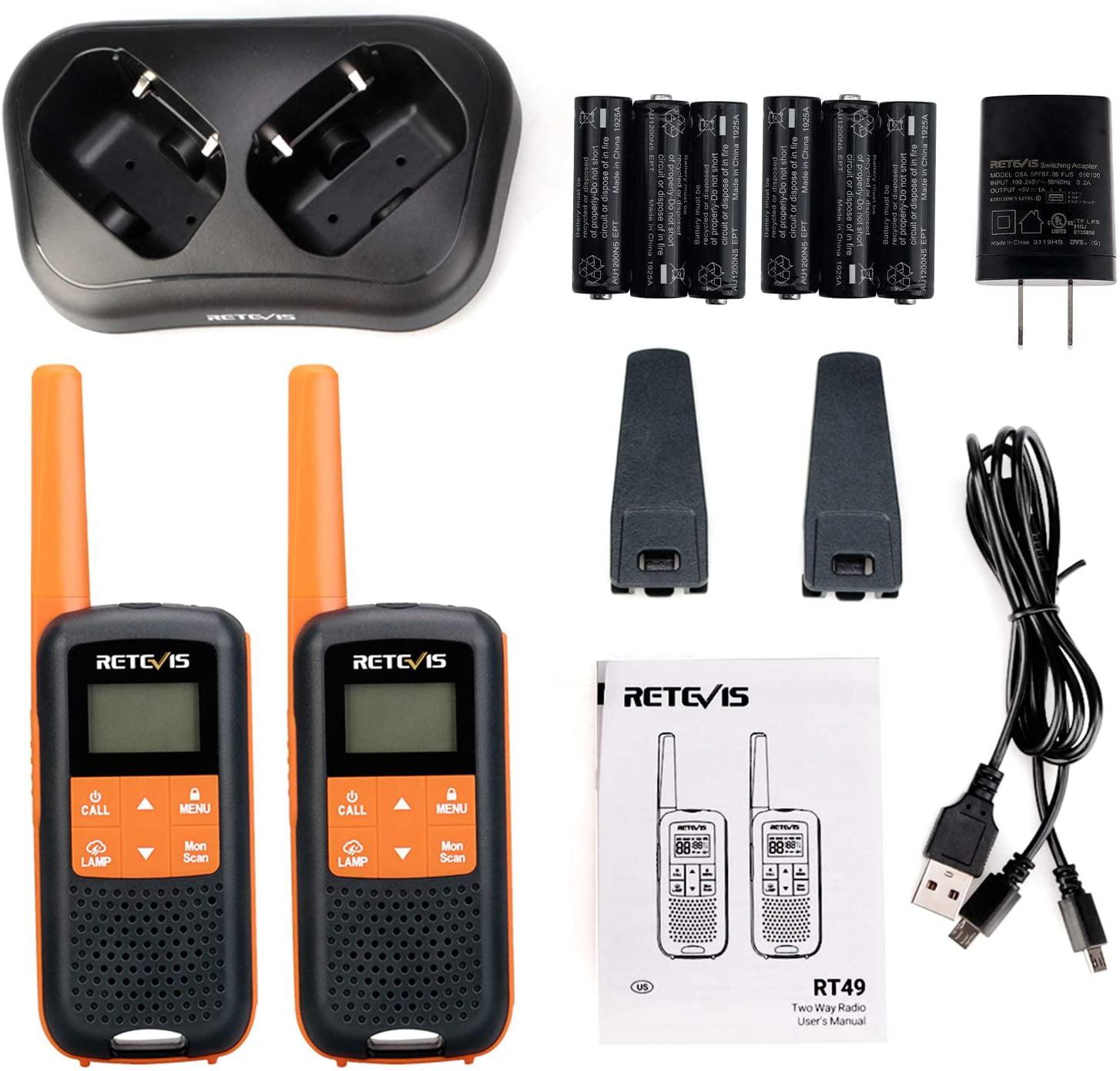 Electronics Two-Way Radios ghdonat.com Retevis RT49P Walkie ...