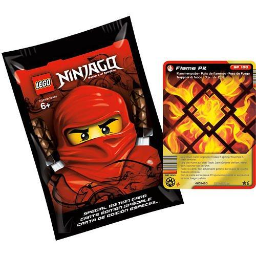 LEGO LEGO Ninjago Special Edition Pack with Flame Pit Foil Card - Lego Halloween Special 2017