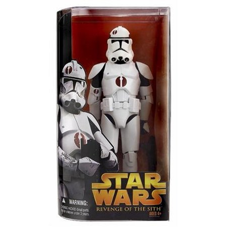 Star Wars E3 TF02 CLONE TROOPER, The genetically engineered soldiers cloned from bounty hunter Jango Fett, served as the Grand Army of the Republic.., By Hasbro From