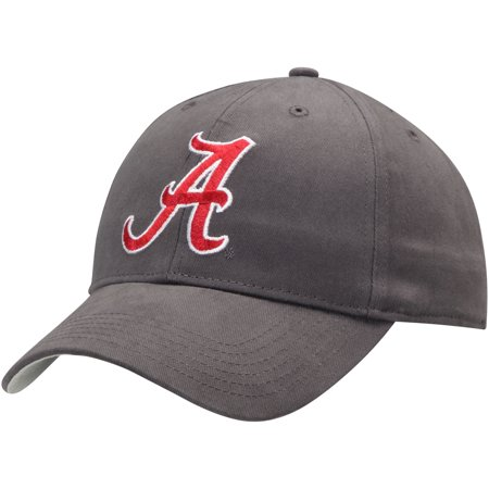 Men's Charcoal Alabama Crimson Tide Basic Adjustable Hat - OSFA](Alabama Crimson)