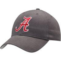 Men's Charcoal Alabama Crimson Tide Basic Adjustable Hat - OSFA