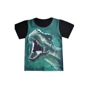 - Kids Baby Boys Round Neck Short Sleeve T-Shirt