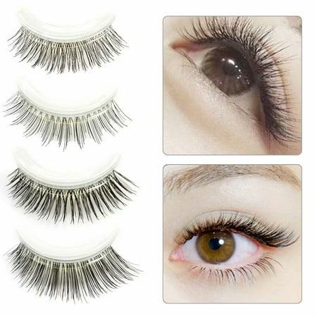 3D Self-Adhesive Non-Irritating Anti-Allergy False Eyelashes Quick Wearing In 3 Seconds - Glow In The Dark Eyelashes