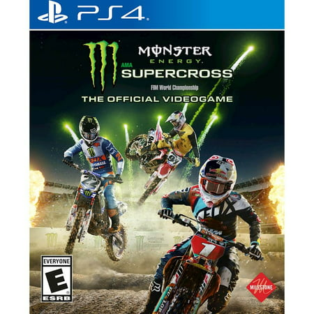 Monster Energy Supercross Official Game, Square Enix, PlayStation 4, - Play Halloween Games Online