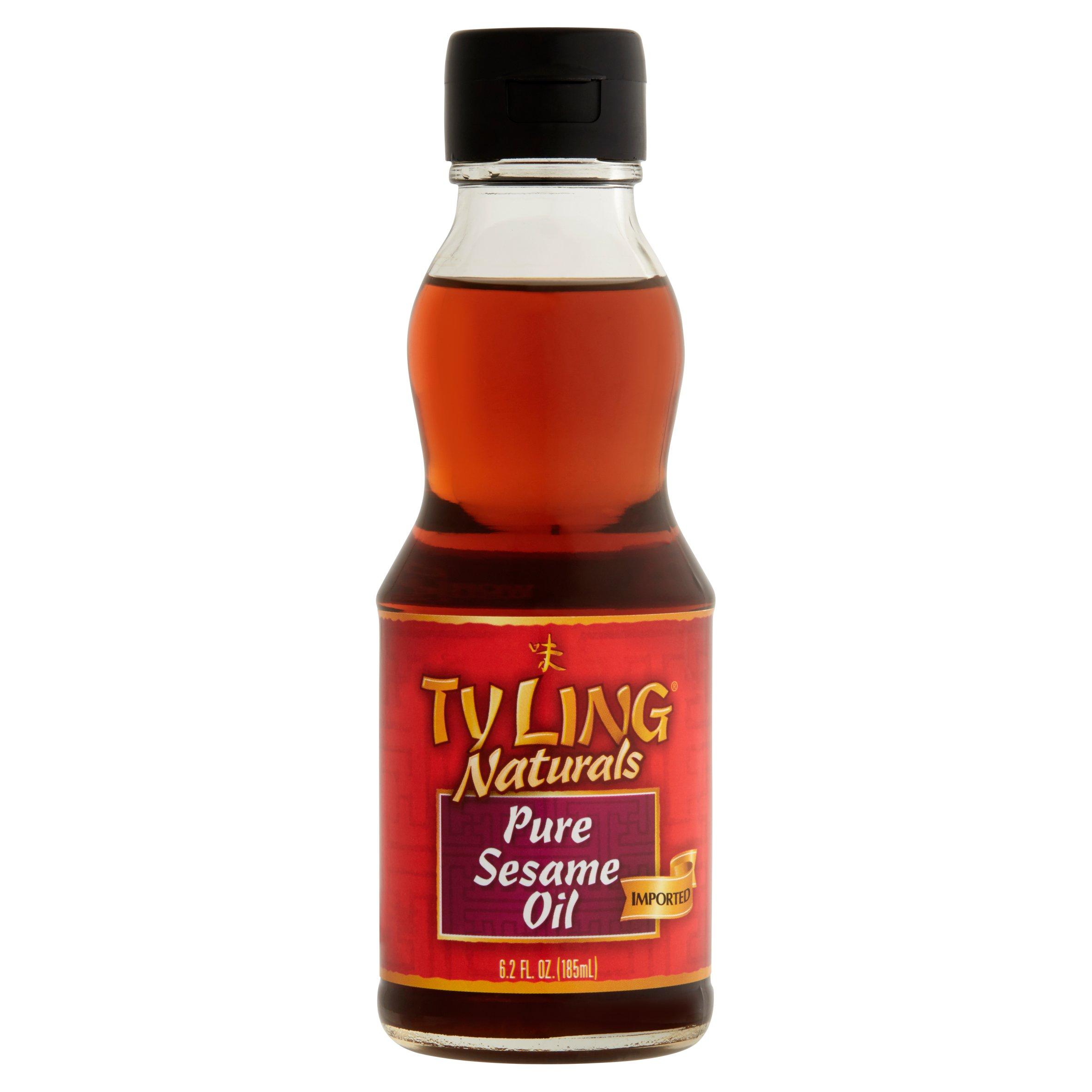 Ty Ling Naturals Pure Sesame Oil, 6.2 fl oz