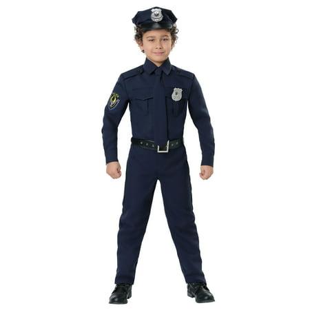 boy's cop costume - Realistic Cop Costume