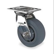 ALBION 05XS04251SG Swivel Plate Caster,350 lb,4 In Dia