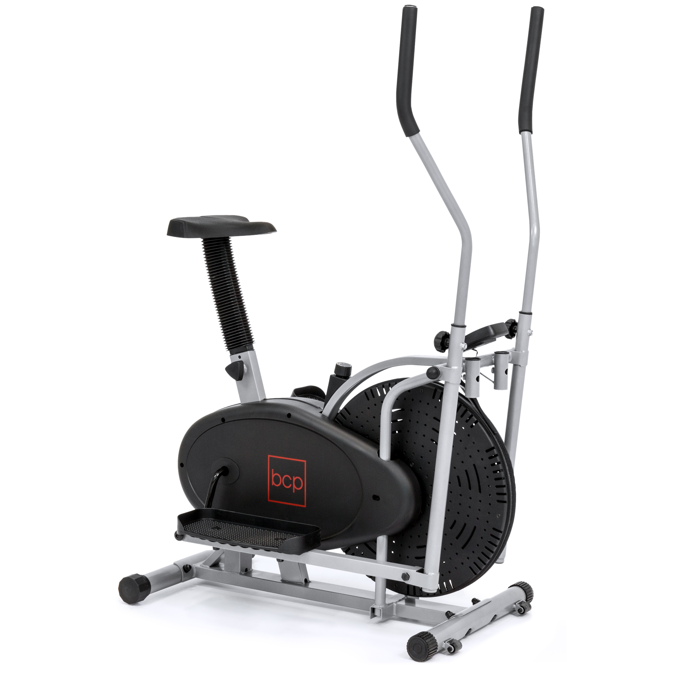 DDI Elliptical Bike 2 IN 1 Cross Trainer Exercise Fitness...