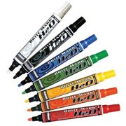 DYKEM BRITE-MARK H2O Markers, White, Medium