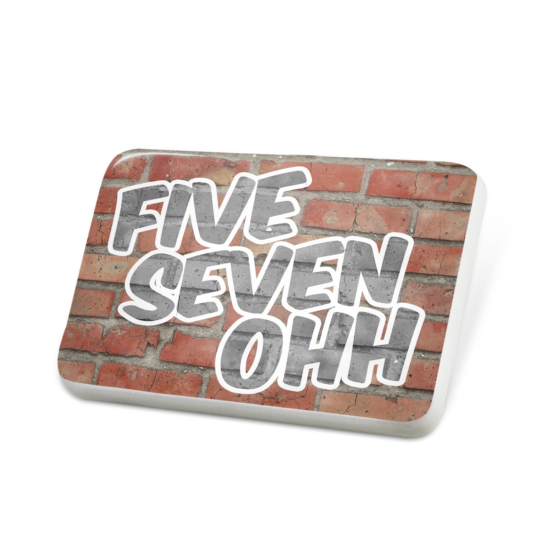 Porcelein Pin 570 Scranton, PA brick Lapel Badge – NEONBLOND