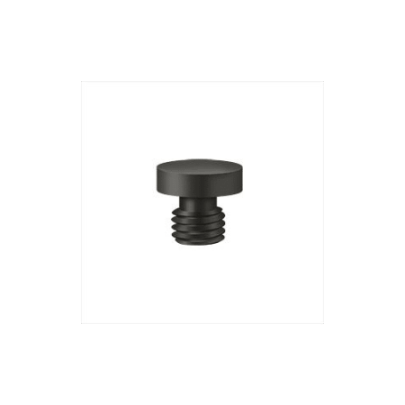Deltana CHBU Decorative Solid Brass Button Tip Cabinet Hinge (Deltana Button)