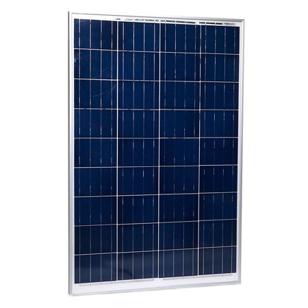 100W Solar Panel 12V Poly Off Grid Battery Charger For Boat